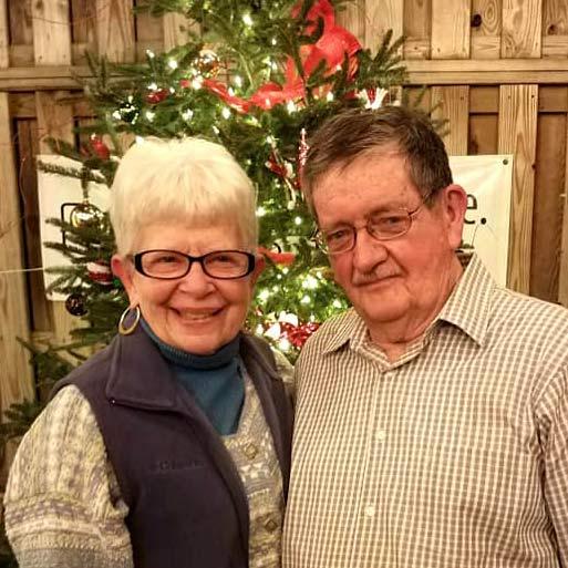 Gene and Shirley Saxton