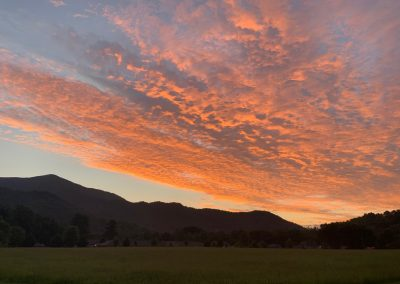 Sunrise in Maggie Valley